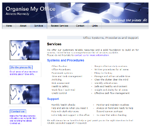 Organise My Office - Services