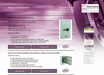 Switchgear Systems - Products