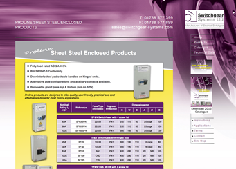 Switchgear Systems - Proline